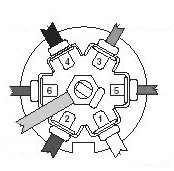 """towing connector wiring reference for rv owners rv and camper info the standard 7 pin connector is a """"keyed"""" round metal connector the following connections those shown are from the wiring"""