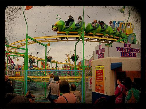 Fairground, pic by hartman045 via Flickr