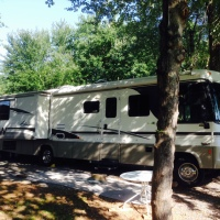 Backing Your RV into a Campsite